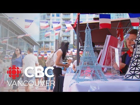 Celebrating Bastille Day In Vancouver