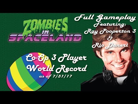 COD IW Zombies in spaceland 3 Player World Record Fortune Cards Full Gameplay with RP3 & Rio Daneri