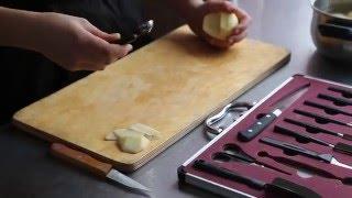 Приготовление лаптей из картофеля