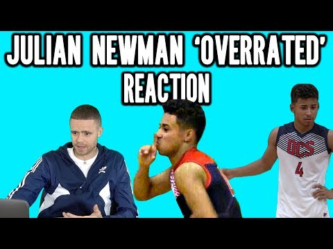 The Professor Reacts to Julian Newman Overrated Game