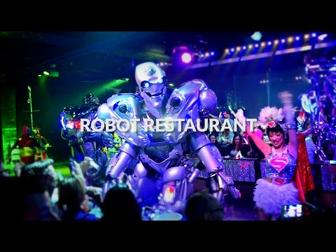 Robot restaurant, Tokyo - Insane, Amazing and fun!  | One Minute Japan Travel Guide