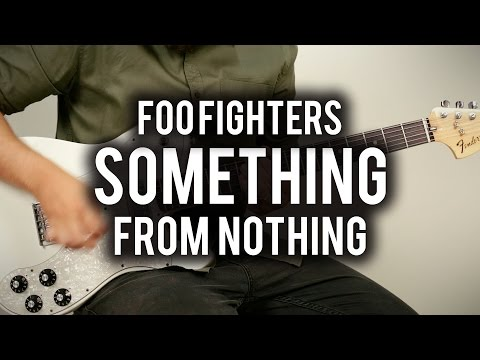 Foo Fighters - Something From Nothing - Guitar Cover - Fender Chris Shiflett Telecaster