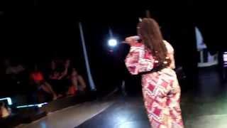 Afrodreamfest Houston 2014 Tosinger performing Raindrops and Ile