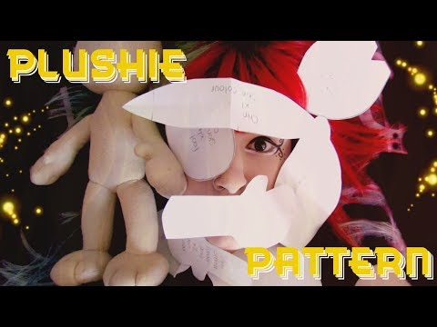 New Plushie Base! How I Make A Paper Plush Pattern!| Tutorial By Cloctor Creations