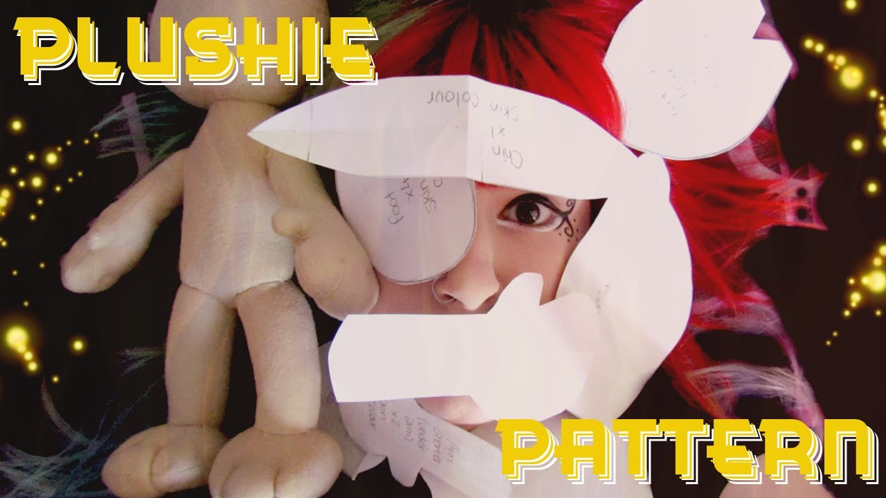New Plushie Base How I Make A Paper Plush Pattern Tutorial By