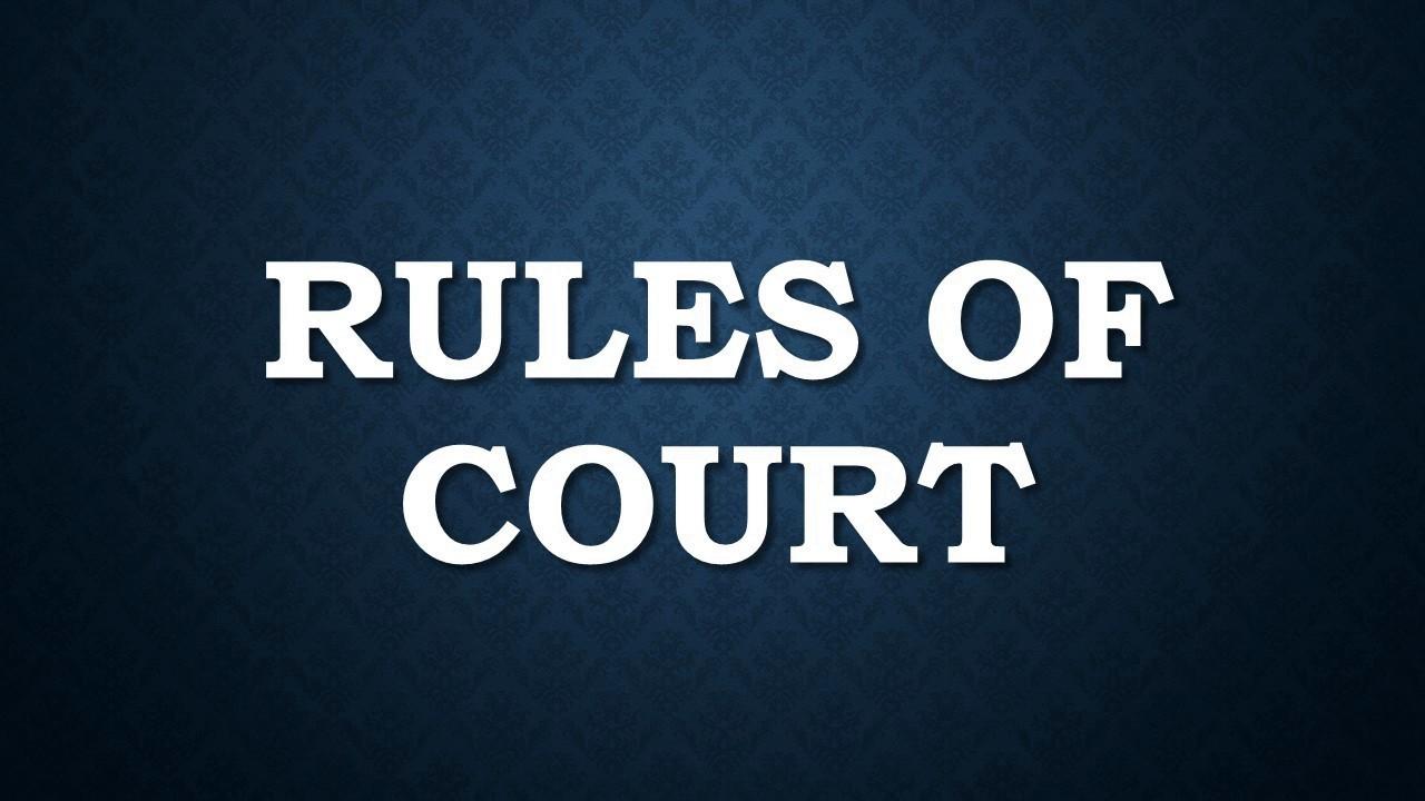 Civil Procedure Rule 41 50 Youtube