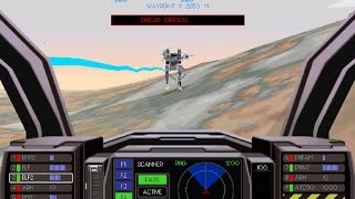 Earthsiege 2 demo (Windows game 1996)