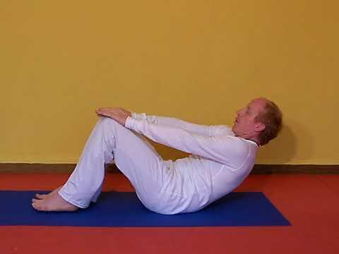 navasana  bauchmuskeln stärken mit dem yoga boot  youtube