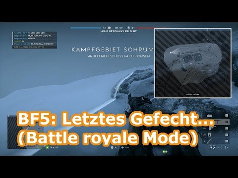 BFV: Was ist Letztes Gefecht...? - Battle royale Mode | Battlefield V (Gameplay) thumbnail