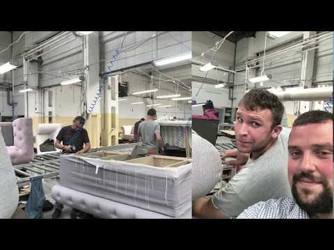 Работа на мебельной фабрике. Первая часть (Общая информация о заводе. Цех оклейки поролоном)
