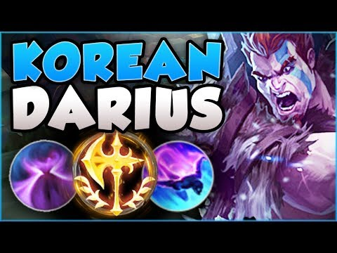 THE ULTIMATE SNOWBALL BUILD! GET PENTAS WITH KOREAN RESET DARIUS SEASON 8 GAMEPLAY League of Legends