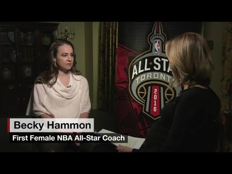 """Becky Hammon: underestimated is """"the story of my car..."""