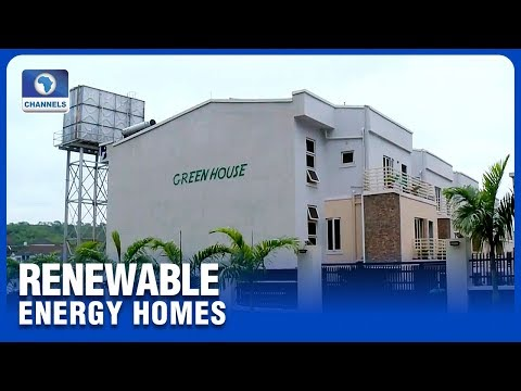 Nigerian Entrepreneur Designs Renewable Energy Homes In Abuja