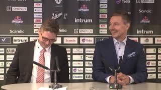 SaiPa–KooKoo -lehdistötilaisuus 15.9.2018