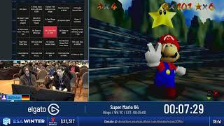 #ESAWinter19 Speedruns - Super Mario 64 [Bingo] by 360Chrism
