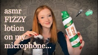 ASMR - Fizzy Lotion On My Microphone...