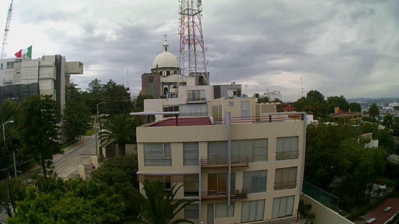 Vista Desde Terraza Hotel Barcelo Puebla Youtube