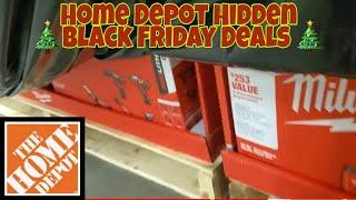 Home Depot Live !! HIDDEN Black Friday DEALS !!!