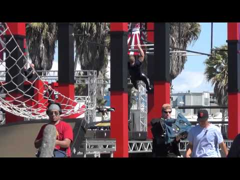 American Ninja Warrior 3 Qualifying round - Michael Bernardo # 2 View, thanks to YOU, Kale Fenroo!