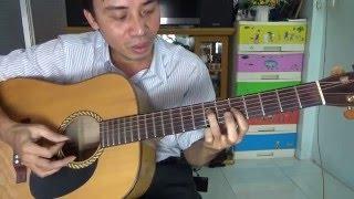 Hướng dẫn chơi guitar bolero và quạt chả đầy đủ chi tiết  P1 HD
