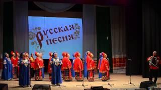 Скачать Народный хор Русская песня Зажглась звезда далекая