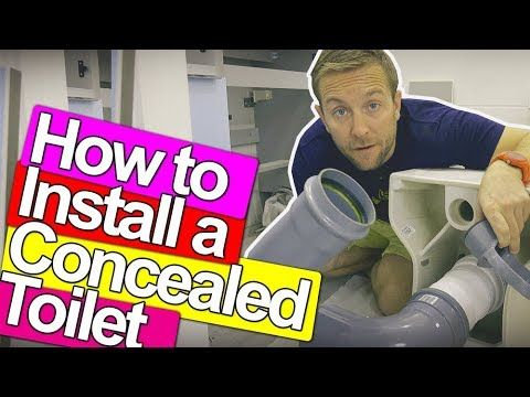 HOW TO FIX A CONCEALED TOILET - Plumbing Tips