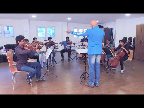 AR RAHMAN'S SUNSHINE ORCHESTRA | KURAI ONDRUM ILLAI | PRACTICE SESSION