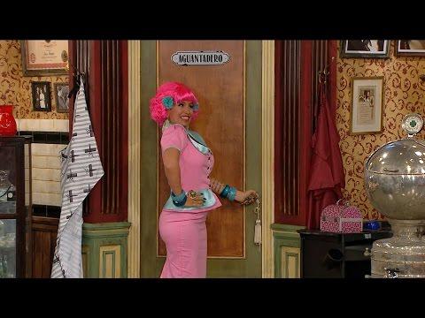 Flor Peña defendió su versión de Alelí y el humor de la nueva peluquería de Don Mateo