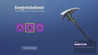 *UNLOCKED* NEW Ninja/Hybrid 'DRAGON CLAW' Epic Style Set After Winning Fortnite Victory Royale