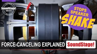 How Force-Canceling Drivers Stop Speaker-Cabinet Vibrations - SoundStage! Shorts (January 2021)