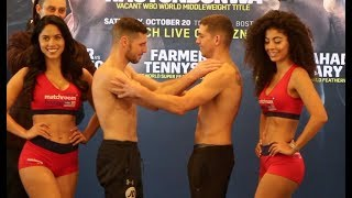 WAR COYLE! - TOMMY COYLE WEIGHS IN ON U.S DEBUT IN BOSTON AGAINST RYAN KIELCZWESKI