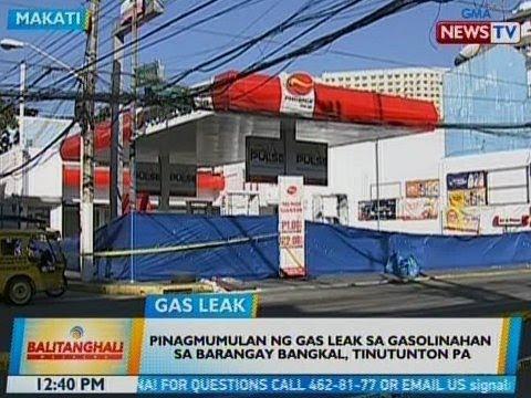 BT: Pinagmulan ng gas leak sa gasolinahan sa Brgy. Bangkal, Makati, tinutunton pa