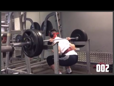 MY MAX FOR A TRIPLE!? - 002 - POWERLIFTING