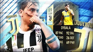 FIFA 18: 89 Dybala Squad Builder Showdown