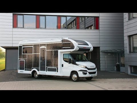 Dethleffs All Electric Motorhome Cocept Fully Covered With Solar Panels