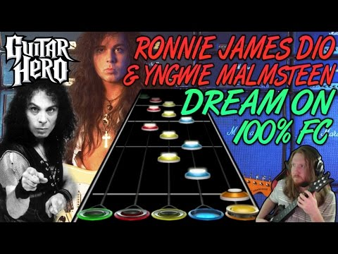 Dio & Yngwie Malmsteen - Dream On (Aerosmith Cover) 100% FC (Guitar Hero Custom)