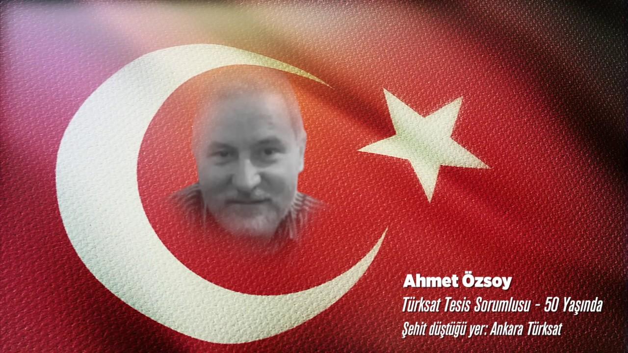15 Temmuz Şehidi Ahmet Özsoy