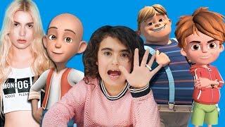 Mira Top 5 | En Sevdiği Şarkı Çizgi Film You tube Kanalı | Eğlenceli Çocuk Videoları | UmiKids