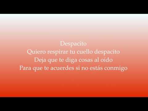 Despacito (REMIX) - Justin Bieber, Luis Fonsi, Daddy Yankee [Lyrics]