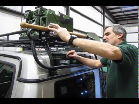 Atlantic British Presents Install Axe Shovel Bracket On