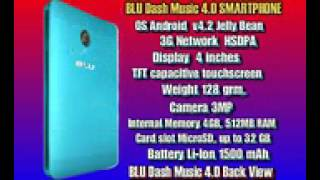 BLU Dash Music 4 0 Video Review
