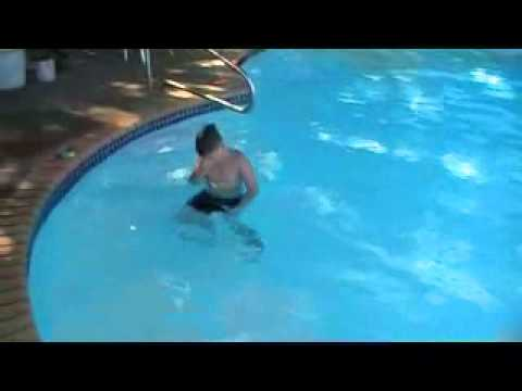 Nephew Dustin Falling into the water.wmv
