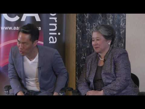 Q&A w/Richard Lui and Lily Liu at AARP's 'Caregiving' documentary world premiere