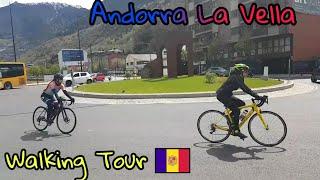 Andorra La Vella | Andorra | Walking Tour | 🇦🇩 | ▪HD▪