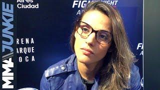 UFC Fight Night 140: Poliana Botelho media day interview