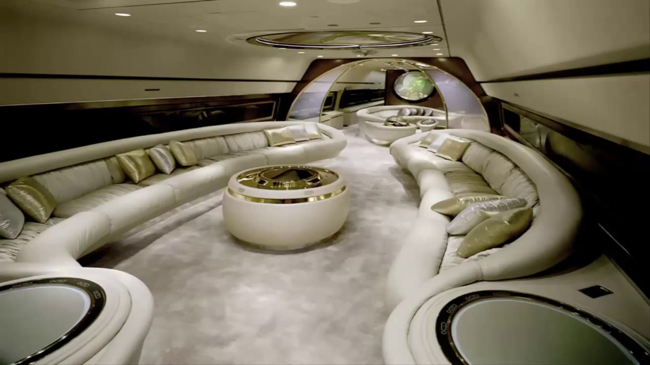 The Most Luxury Private Jet Interior 2017