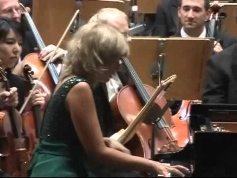 Enrica Ciccarelli, Pianist -  Liszt  Piano Concerto n.2  part1
