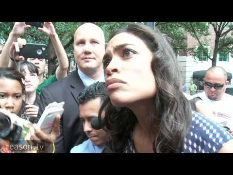 Immigrant Protestors Arrested At The DNC, Feat. Rosario Dawson