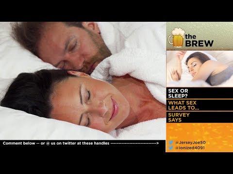 Sex Or Sleep? [The Brew # 132]
