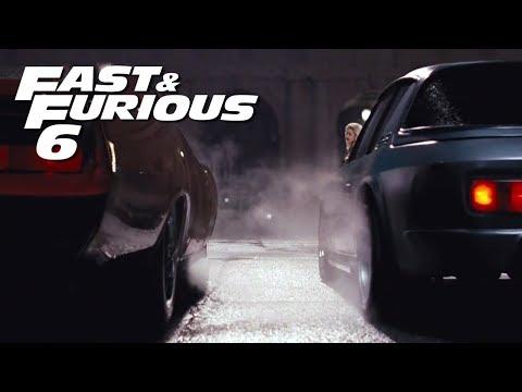 Dom Vs Letty Race - FAST And FURIOUS 6 ( Daytona Vs Interceptor) 1080p